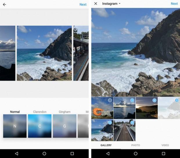 اینستاگرام به زودی امکان آپلود کردن چند عکس در یک پست را خواهد داد