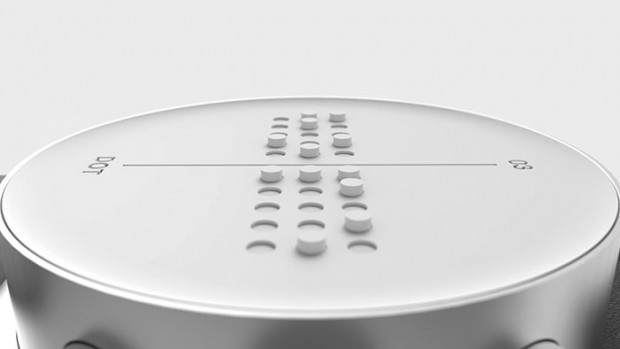 ساخته برای بریل خط تبلتی نابینایان قابلیت شدن نمایش با