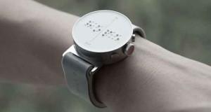اولین ساعت هوشمند بریل جهان به نابینایان امکان میدهد محتوای نمایشگر را با دستانشان حس کنند