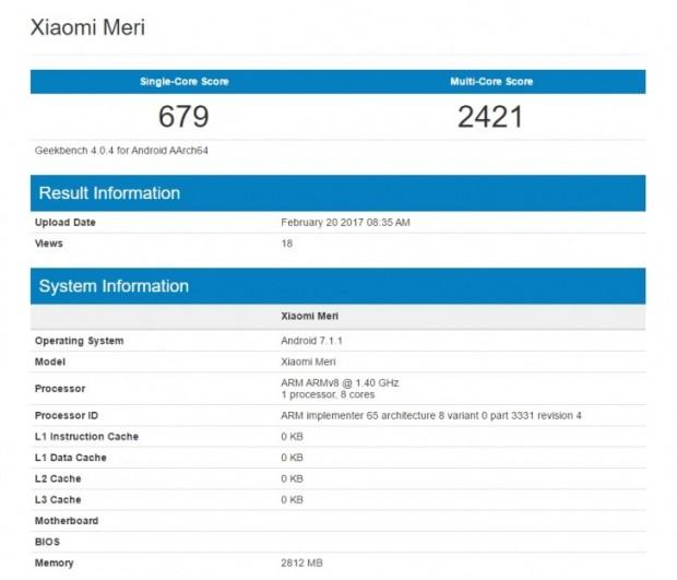 شیائومی می 5 سی در هر حضور در گیک بنچ نتایج متفاوتی را به ثبت رسانده است!