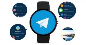 اپلیکیشن تلگرام مخصوص ساعت های هوشمند