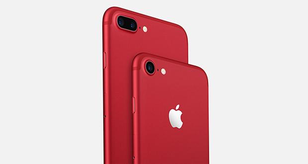 گوشی آیفون 7 قرمز را از نمایی نزدیک ببینید