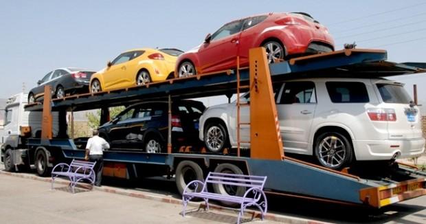 واردات خودرو به ایران