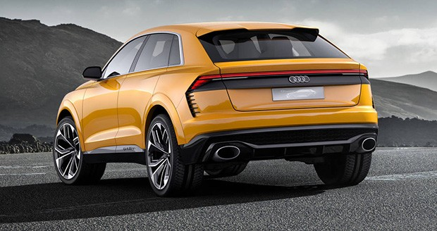 خودرو مفهومی آئودی کیو 8 (Audi Q8 Sport) اسپورت در ژنو رویت شد