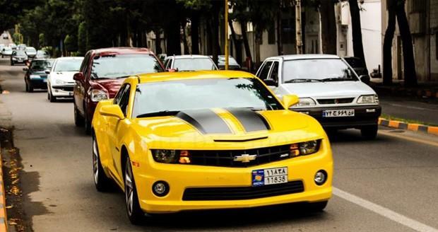 شعاع حرکتی خودروهای پلاک منطقه آزاد