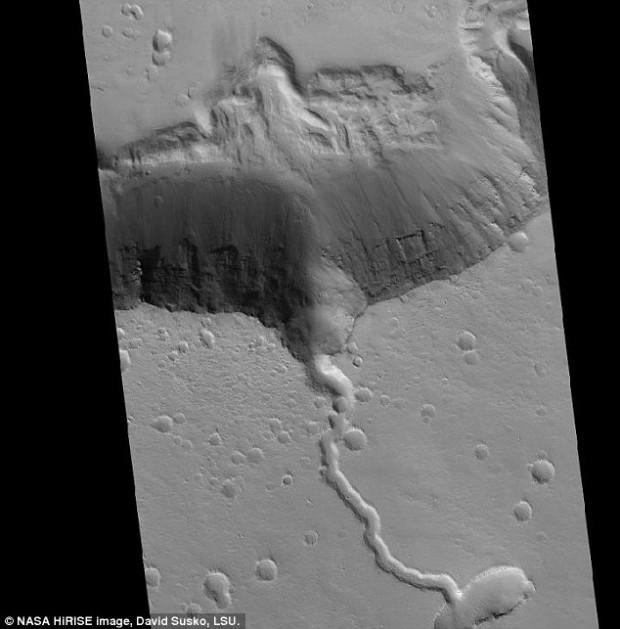 آتشفشان های مریخ
