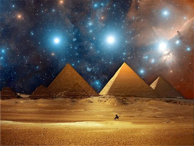 هرم جیزه در مصر