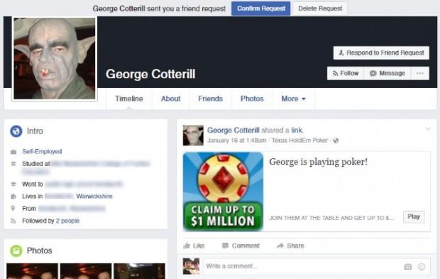 بدافزارهای فیسبوک