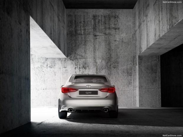 فیس لیفت خودرو اینفینیتی Q50
