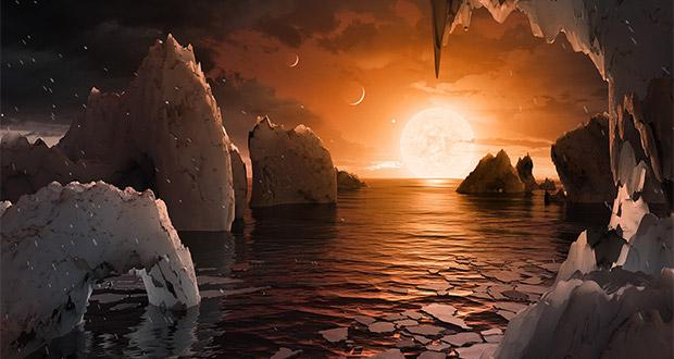 زندگی در سامانه TRAPPIST-1