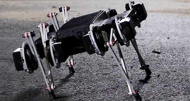ویدیوی جدید ربات مینیتار ، تعادل فوق العادهی این ربات عنکبوتی را نشان میدهد
