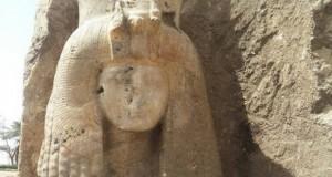 کشف احتمالی مجسمه مادربزرگ پادشاه توت ، ملکه تیه