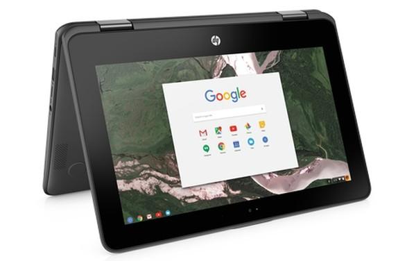رونمایی گوگل از لپتاپ HP Chromebook x360 11 G1 برای دانش آموزان