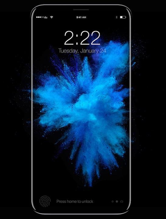 اپل برنامهی کاملا متفاوتی برای طراحی سنسور اثر انگشت آیفون 8 دارد