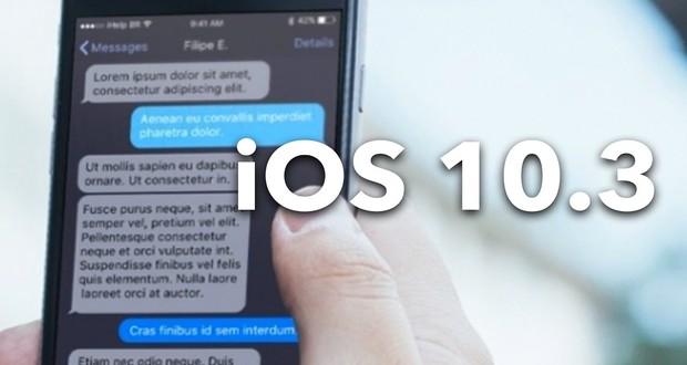 آپدیت iOS 10.3.2