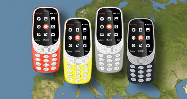 زمان عرضه نوکیا 3310 جدید