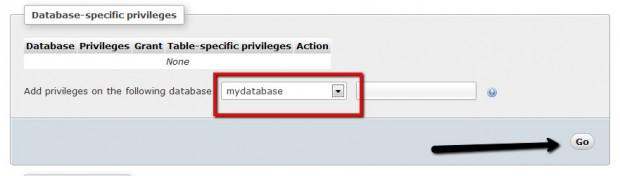 ایجاد پایگاه داده در phpMyAdmin