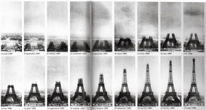 مراحل ساخت برج ایفل