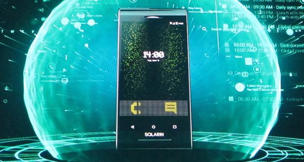 توقف تولید گوشی Solarin