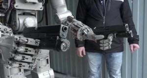 ربات تیر انداز روسیه