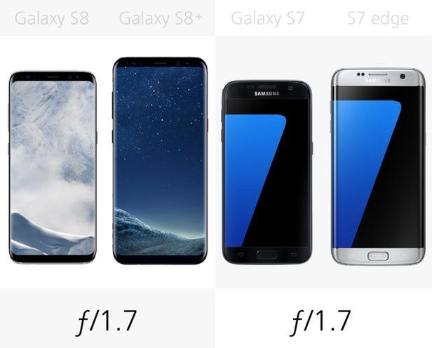 مقایسه گلکسی اس 8 با گلکسی اس 7
