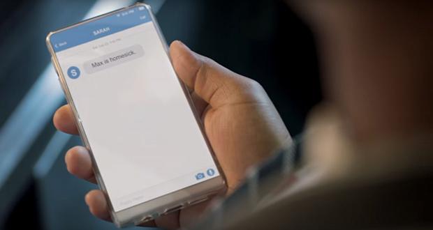 ردپای گوشی اندرویدی اندی رابین در یک تبلیغ تلویزیونی دیده شد