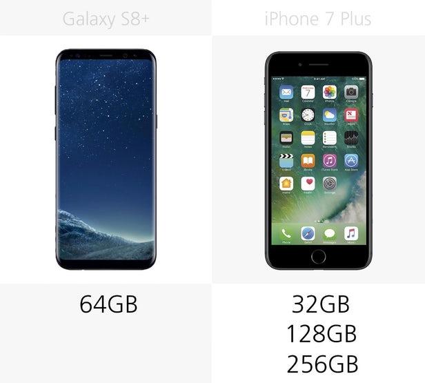 مقایسه گلکسی اس 8 پلاس