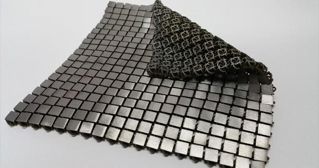 محققان ناسا با کمک فناوری چاپ سه بعدی پارچه فضایی فلزی تولید کردند