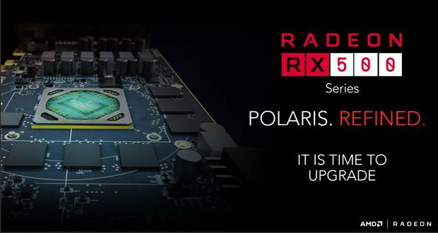 کارت های گرافیک سری RX 500