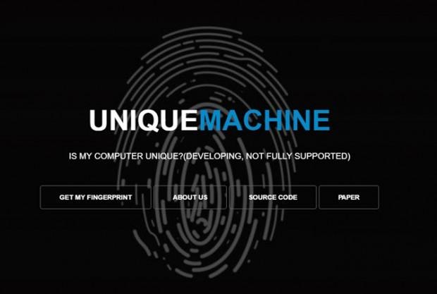 ردیابی آنلاین کاربران و شناسایی افراد با استفاده از اثر انگشت مرورگر -Unique Machine
