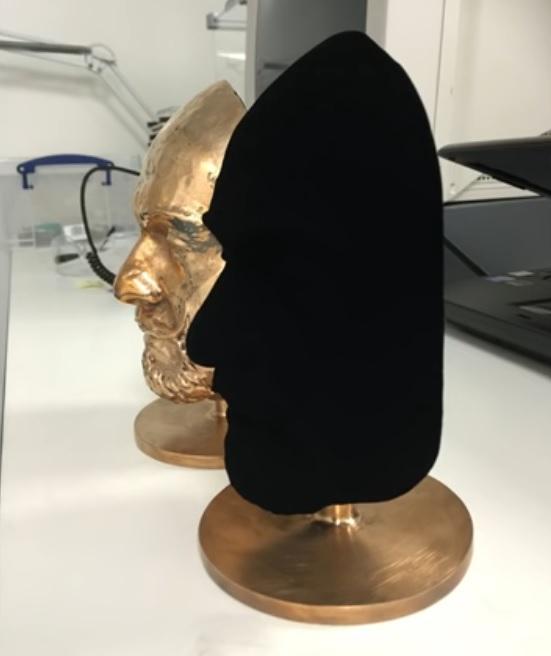 اسپری ونتابلک ؛ پوشاندن سطوح مختلف با تاریکترین ماده دنیا