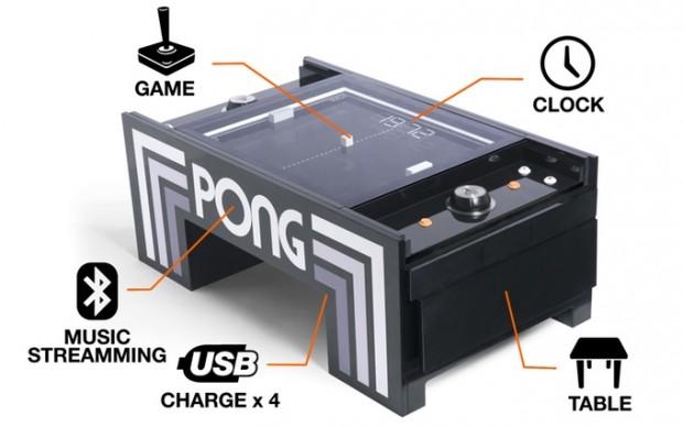 میز Pong ؛ ورژن واقعی بازی سرگرمکننده و خاطرهانگیز Pong