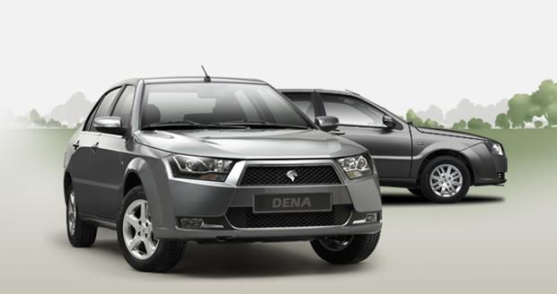 قیمت محصولات ایران خودرو در کارخانه
