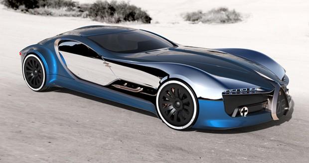 خودروی مدرن بوگاتی آتلانتیک جانشین شیرون خواهد شد