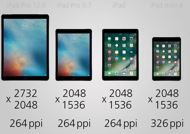 مقایسه آیپد 2017 با آیپد پرو 12.9 اینچی