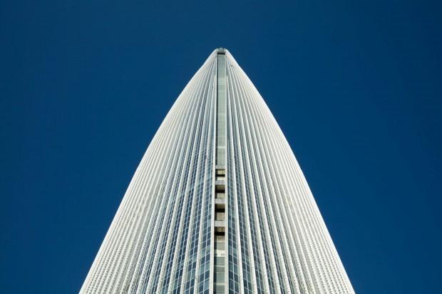 سریع ترین آسانسور جهان در بلندترین آسمانخراش کره جنوبی Lotte World Tower