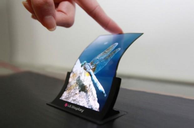 نمایشگرهای OLED موبایلی ال جی