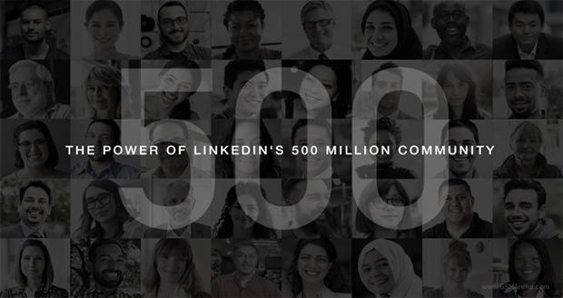 500 میلیون کاربر شبکه اجتماعی لینکدین