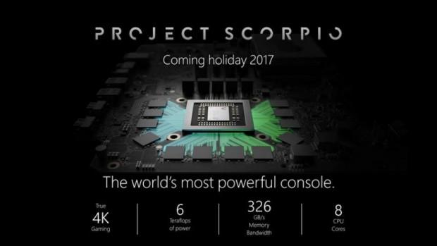 ایکس باکس اسکورپیو (Xbox Scorpio)