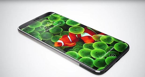 اپل در حال طراحی و تولید یک نمایشگر خمیده برای آیفون 8 خود است