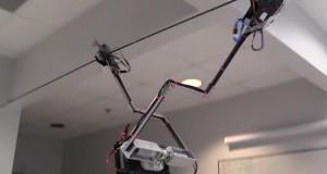 ربات تارزان ، رباتی جالب و عجیب که برای دیدهبانی تاب میخورد!