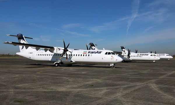 سه فروند هواپیمای جدید ATR ایران ایر