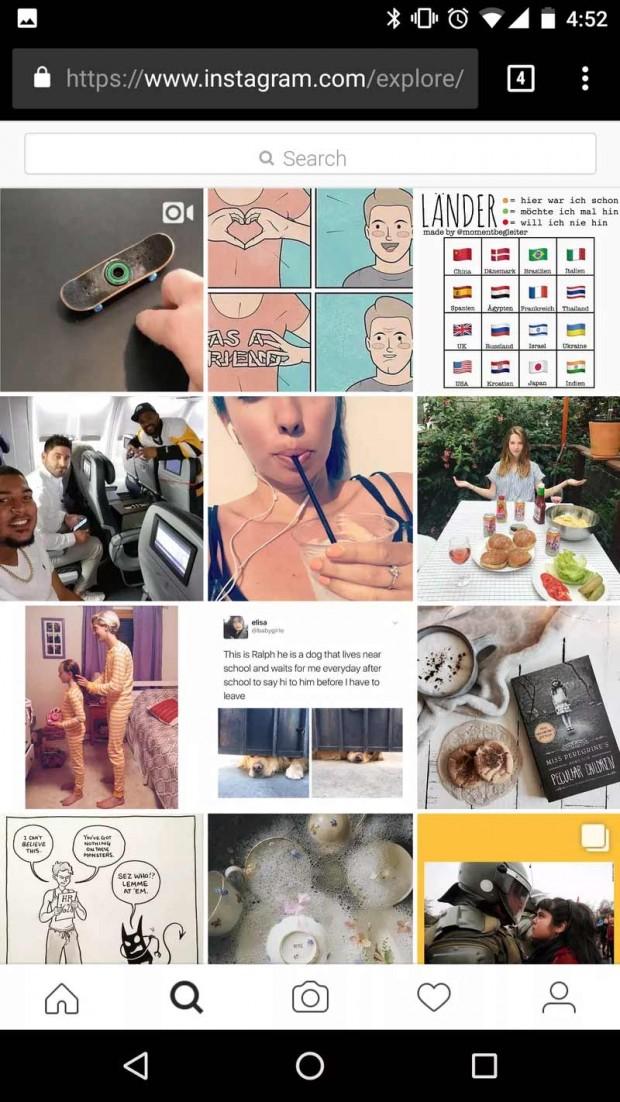 امکان آپلود عکس در وب سایت اینستاگرام فراهم شد + آموزش