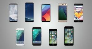 بهترین گوشی های نیمه اول 2017 ؛ مقایسه امکانات
