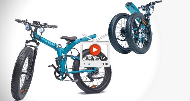 این دوچرخه الکتریکی میتواند یک خودرو شاسی بلند را بکشد!