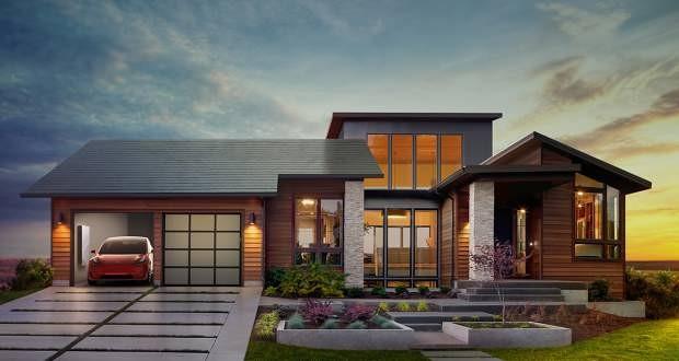 پیش فروش سقف خورشیدی تسلا