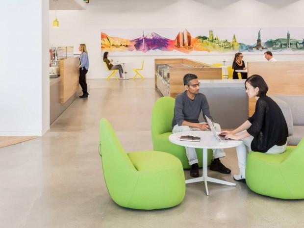 تصاویری شگفتانگیز از دفتر مرکزی ادوبی (Adobe)