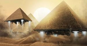 دخالت موجودات فضایی در ساخت هرم جیزه مصر
