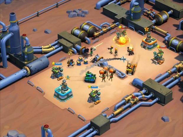سری جدید بازی Blitz Brigade