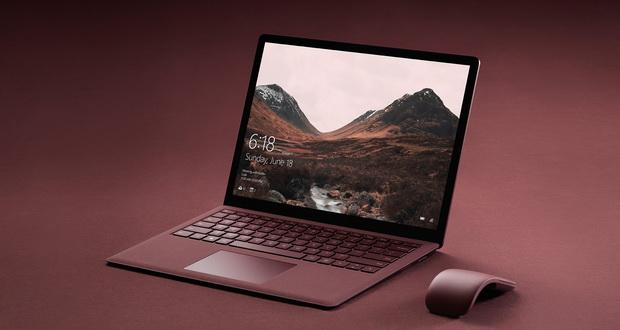 مشخصات فنی مایکروسافت سرفیس لپ تاپ